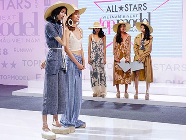 Lộ diện top 3 vào chung kết Vietnam's Next Top Model