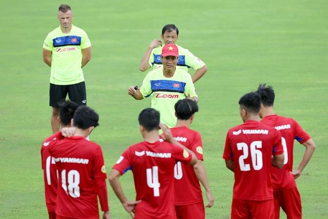 HLV Mai Đức Chung đã sẵn sàng cho trận đấu với đội tuyển Campuchia