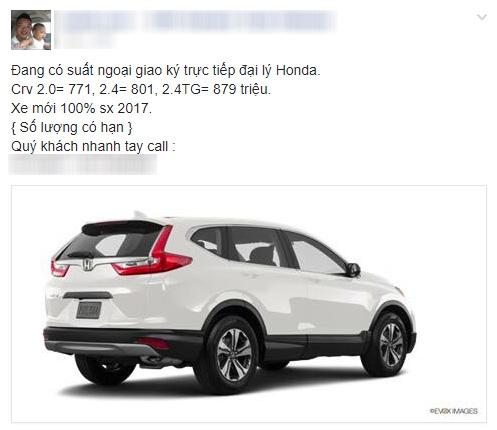 Honda CR-V tại Việt Nam giảm giá còn 771 triệu đồng - 3