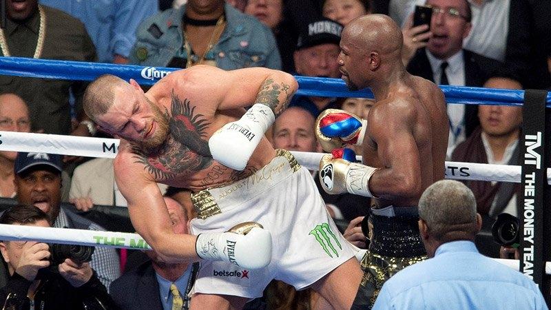 Mayweather vs McGregor, Mayweather, McGregor