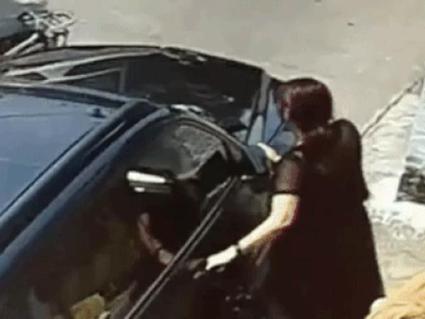 Bắt quả tang chồng ngoại tình, vợ chặn ô tô để nói chuyện phải trái, chẳng ngờ lại không còn đường về