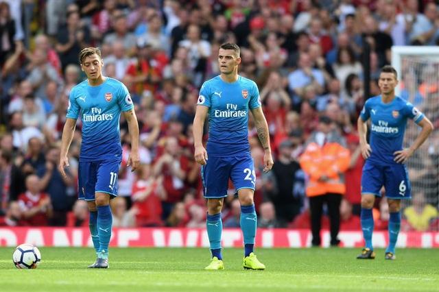 Arsenal thi đấu cực tệ ở giai đoạn đầu mùa giải 2017/18