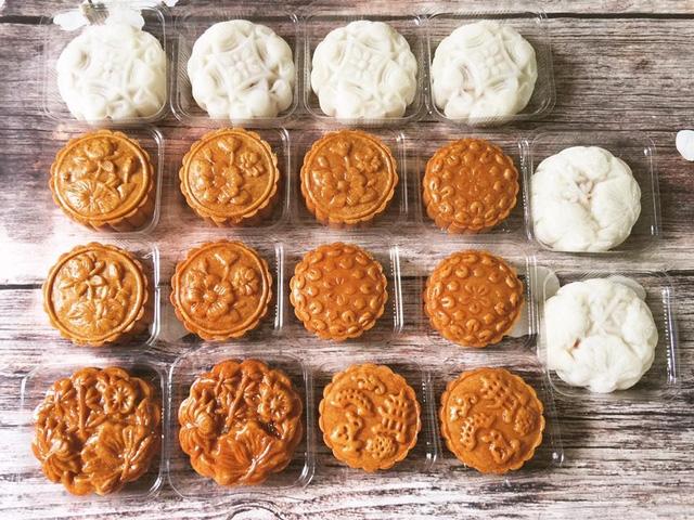 Bánh trung thu truyền thống handmade