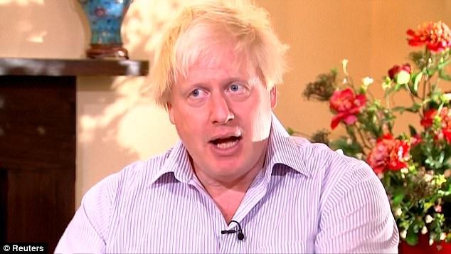 Ngoại trưởng Anh Boris Johnson (Ảnh: Reuters)