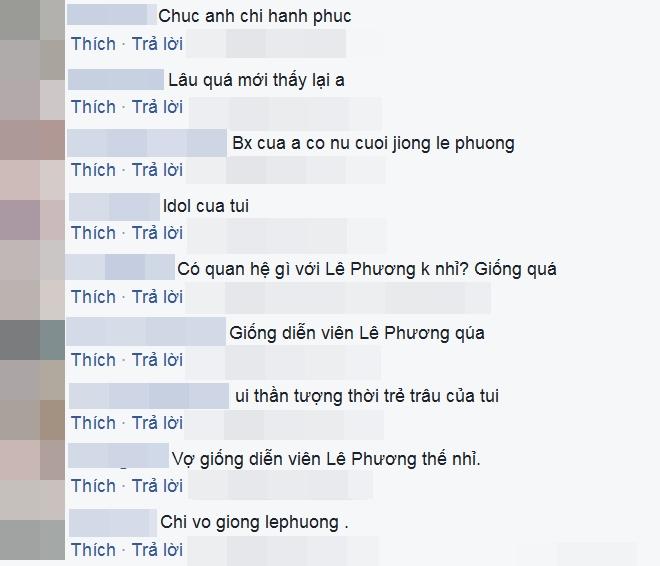 fan giat minh nhan ra vo moi kem 10 tuoi cua van quang long qua giong le phuong - 3