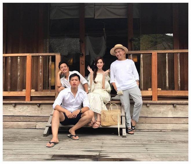 Hậu trường chụp ảnh cưới ít ai biết của Hoa hậu Thu Thảo và bạn trai doanh nhân - Ảnh 4.