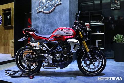 Honda CB150R Street Cafe giá 4.100 USD giới hạn 500 xe.