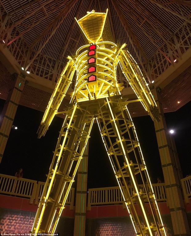 Mỹ: Du khách tham gia lễ hội Burning Man kinh hãi khi thấy một người đàn ông lao mình vào biển lửa - Ảnh 5.