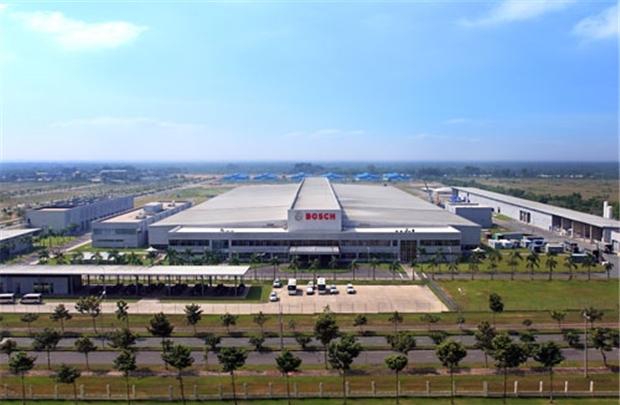 Nhà máy bề thế của Bosch tại Việt Nam.
