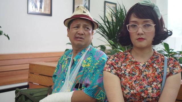 Vân Dung và Chí Trung trong phim truyền hình Ghét thì yêu thôi.