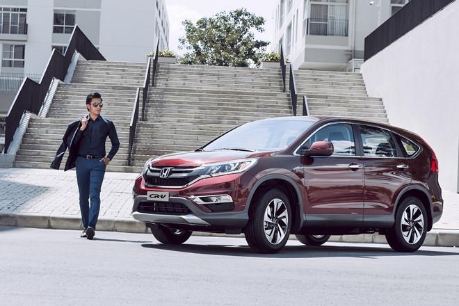 Gia Honda CR-V nhay mua lien tuc dau thang 9 hinh anh 2