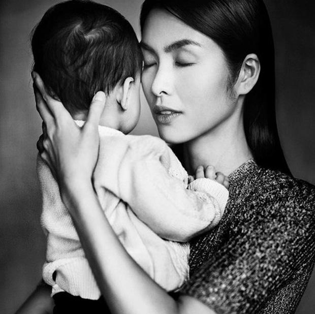 Hé lộ hình ảnh rõ nét cực hiếm hoi của con gái Tăng Thanh Hà - Ảnh 4.