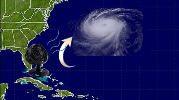 Mỹ: kêu gọi toàn dân bật quạt thổi bão bay đi chỗ khác - Ảnh 2.