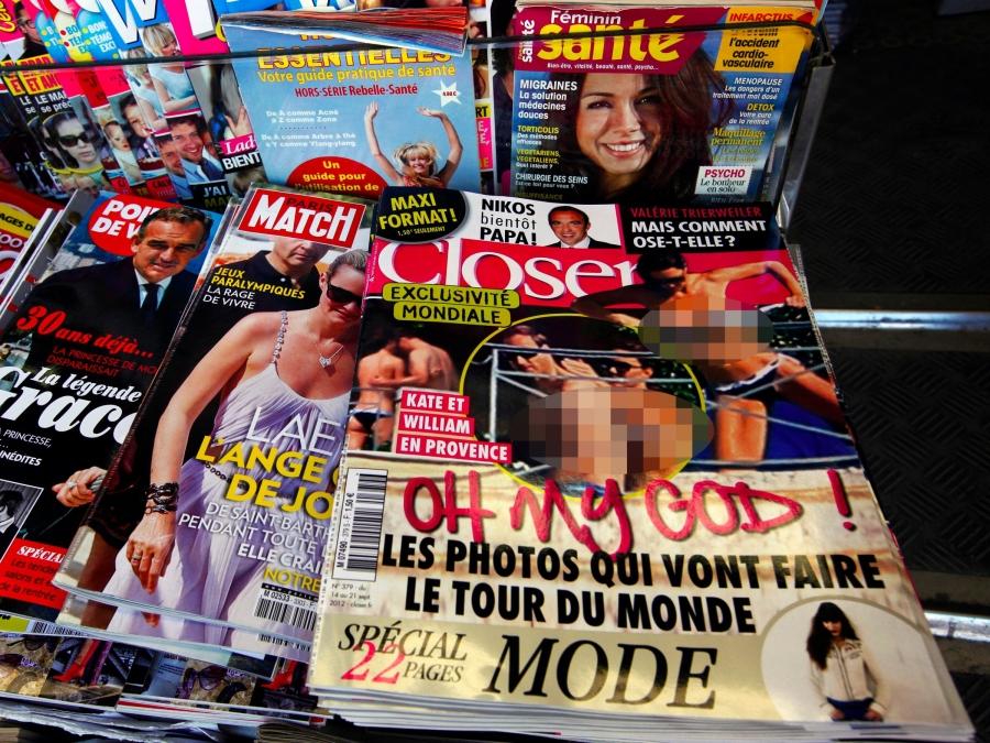 Tạp chí Pháp bồi thường 3 tỉ đồng vì đăng ảnh ngực trần của Kate Middleton - ảnh 1