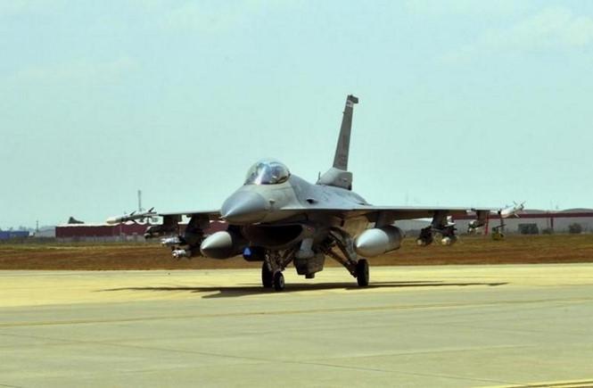 Tiêm kích F-16 của Không quân Mỹ /// Reuters