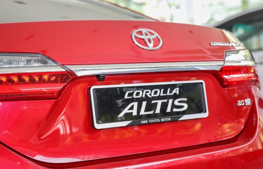 Toyota Corolla Altis 2017 co gia hon 28.000 USD o Malaysia hinh anh 5