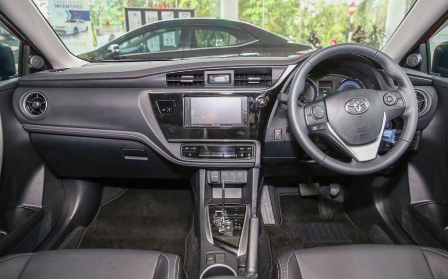 Toyota Corolla Altis 2017 co gia hon 28.000 USD o Malaysia hinh anh 8
