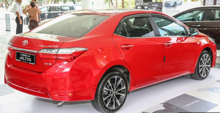 Toyota Corolla Altis 2017 co gia hon 28.000 USD o Malaysia hinh anh 11