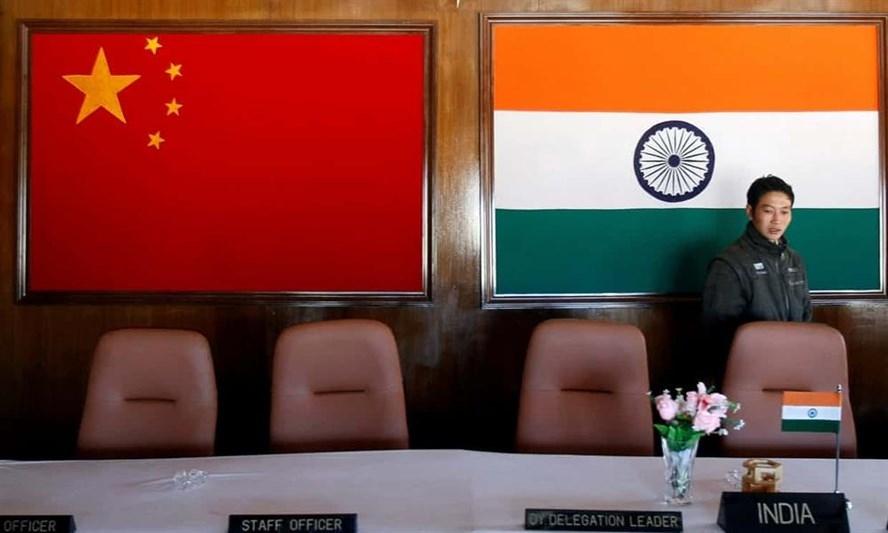 Phòng hội thảo của các quan chức quân đội về biên giới Trung-Ấn. Ảnh: Reuters