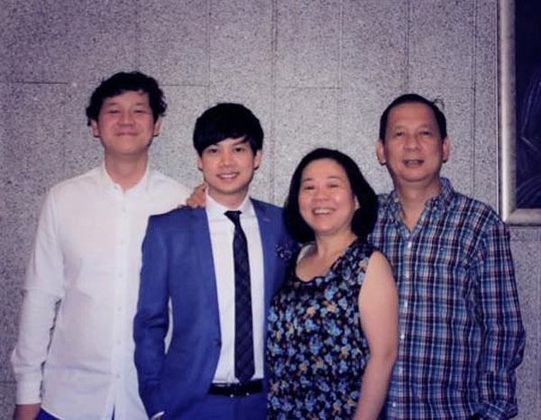 Gia đình hạnh phúc của nữ doanh nhân Dương Thanh Thủy.