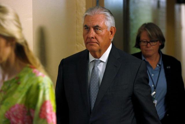 Ngoại trưởng Mỹ Rex Tillerson (Ảnh: Reuters)