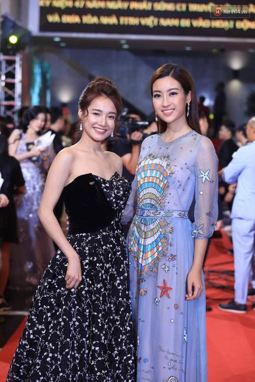 Dàn sao Việt lộng lẫy hội ngộ trên thảm đỏ VTV Awards 2017 - Ảnh 5.