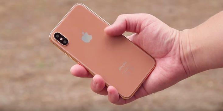 Chân dung chiếc iPhone 8 tin đồn.
