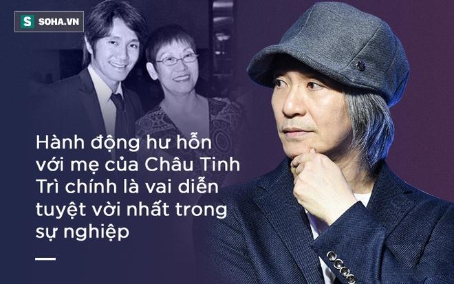 Mẹ Châu Tinh Trì phải ăn đùi gà dính đất cát và 30 năm sau, sự thật về lòng hiếu thảo mới được hé lộ - Ảnh 2.