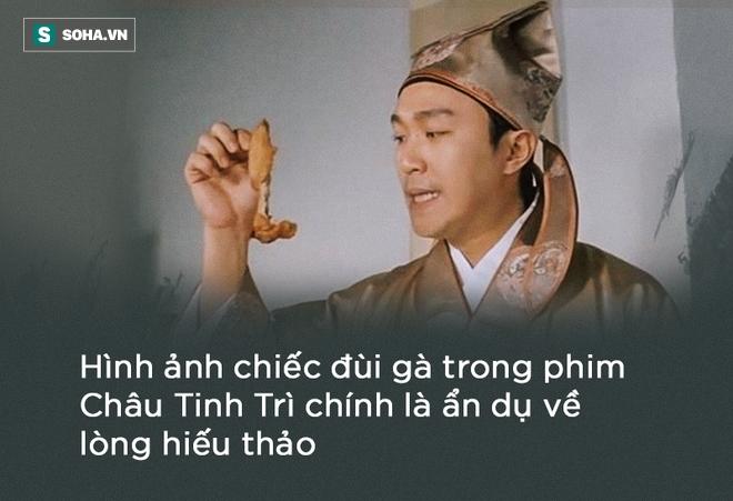 Mẹ Châu Tinh Trì phải ăn đùi gà dính đất cát và 30 năm sau, sự thật về lòng hiếu thảo mới được hé lộ - Ảnh 3.