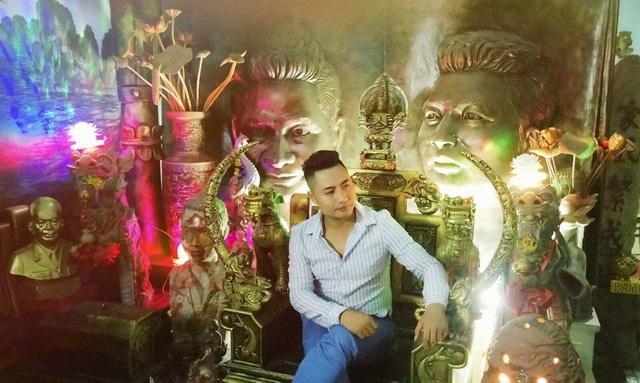 Anh Nguyễn Văn Tưởng, chủ nhân căn nhà kỳ quái, gây xôn xao dư luận