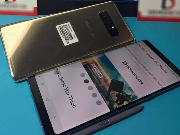 Samsung khóa điện thoại Galaxy Note8