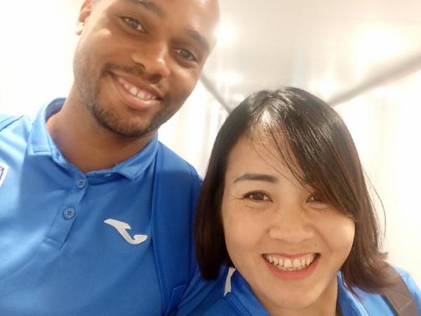 Than Quảng Ninh gây sốc tại V.League 2017 với sếp nữ trưởng đoàn