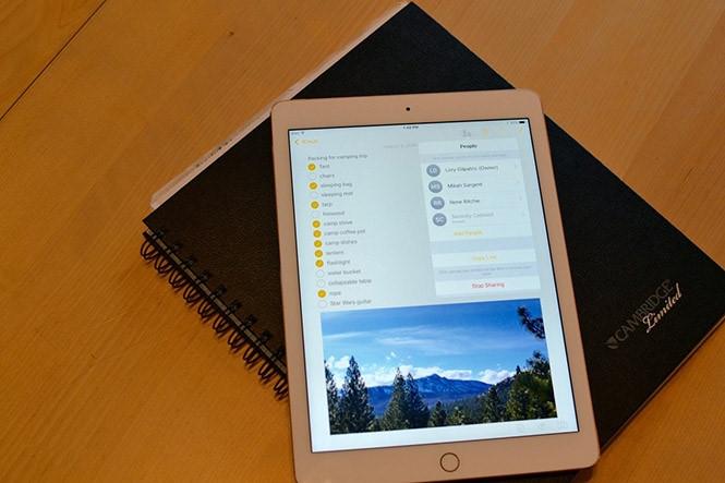 Quá trình tương tác với các ghi chú trên Notes trong iOS 11 ngày càng hoàn thiện hơn