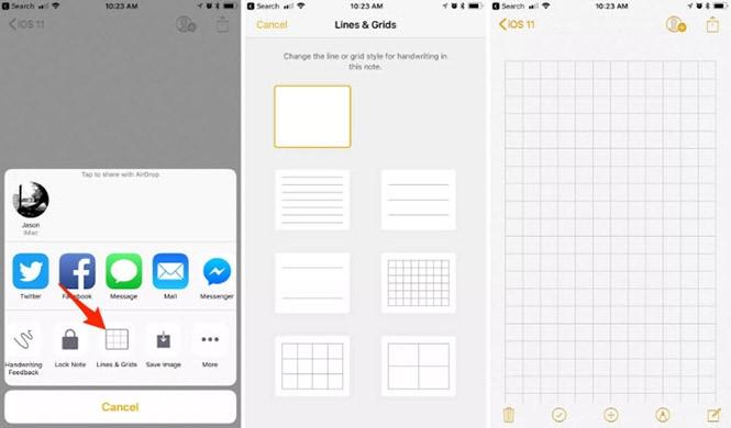 Cách khai thác ứng dụng Notes trên iOS 11 - ảnh 2