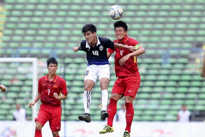 Trận U.22 VN thắng U.22 Campuchia 4-1 bị nghi vấn bán độ. /// Độc Lập