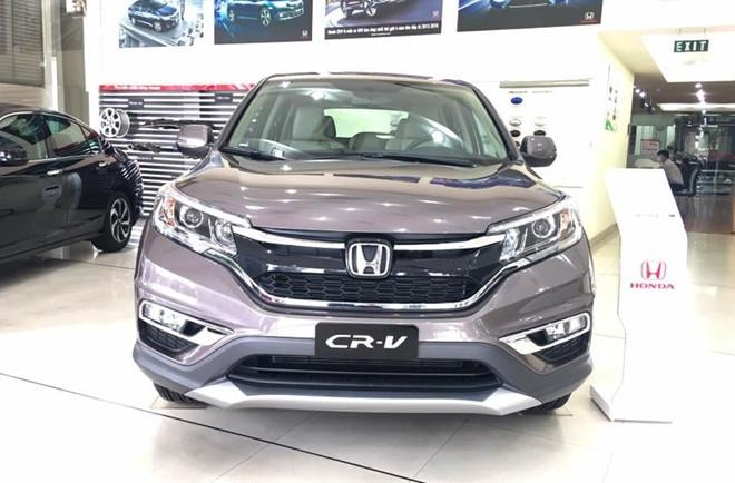 Honda CR-V dai ha gia: Mot tuan nao loan thi truong oto Viet hinh anh 2