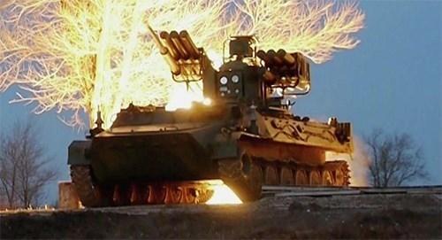 Nga bắn thử tên lửa phòng không tầm thấp Sosna mới - Ảnh 1.