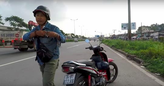 Người đòi đánh thanh niên quay clip CSGT: Tôi bị oan! (?) - Ảnh 1.