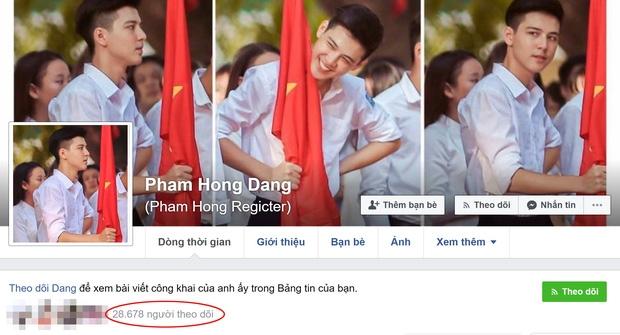 Hotboy cầm cờ trường Phan Đình Phùng lộ ảnh thời cấp 2, xuất hiện loạt tài khoản mạo danh trên Facebook - Ảnh 4.