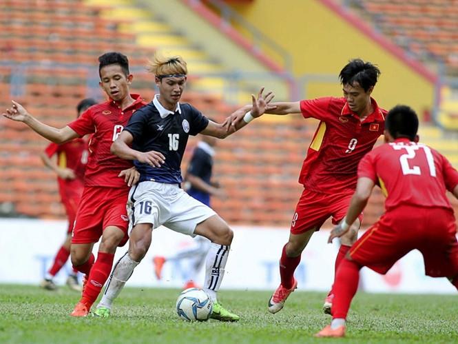 Trận VN - Campuchia tại SEA Games 29 /// Độc Lập