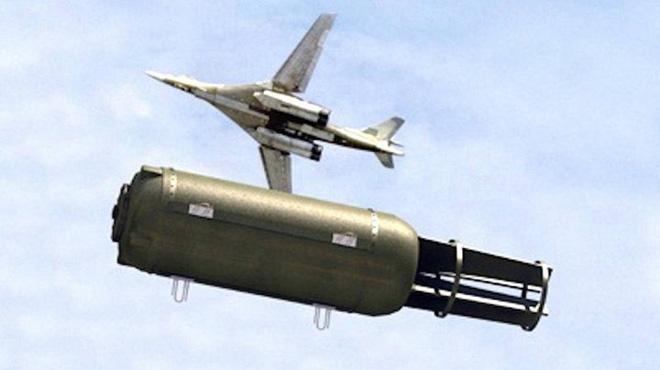 Xôn xao thông tin Nga dùng cha của các loại bom diệt khủng bố IS ở Syria - Ảnh 1.