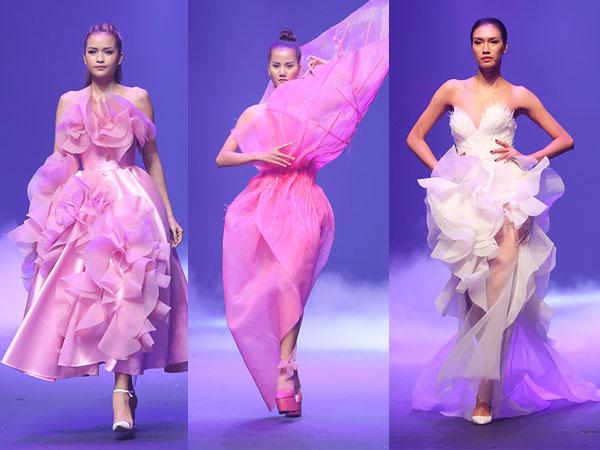 Người mẫu bung đế giày trong bộ sưu tập hoành tráng nhất chung kết Next Top