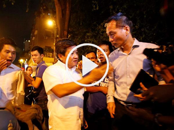 Video: Ông Đoàn Ngọc Hải nói sẽ đi với cảnh sát hình sự dẹp vỉa hè