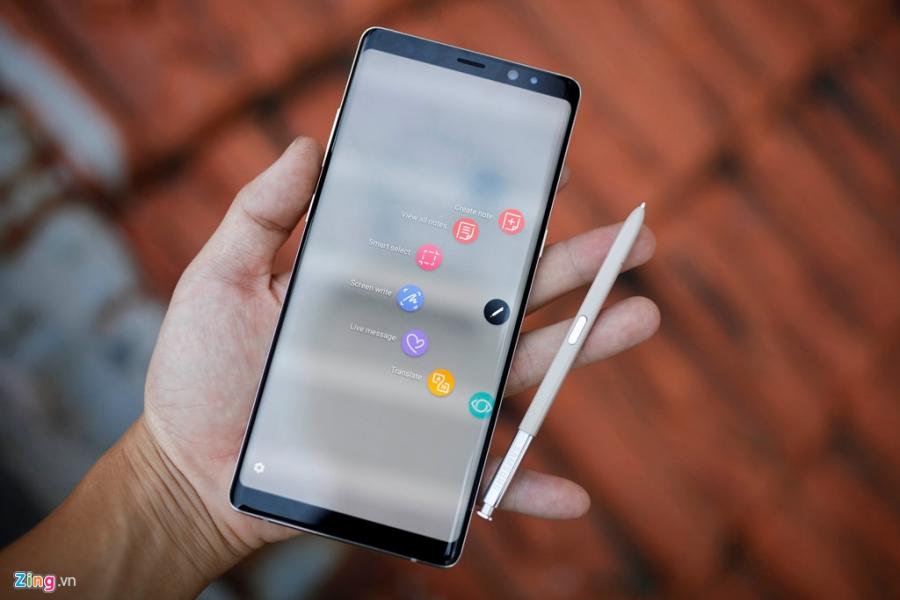 Loan gia Samsung Galaxy Note 8 truoc ngay ra mat tai VN hinh anh 6