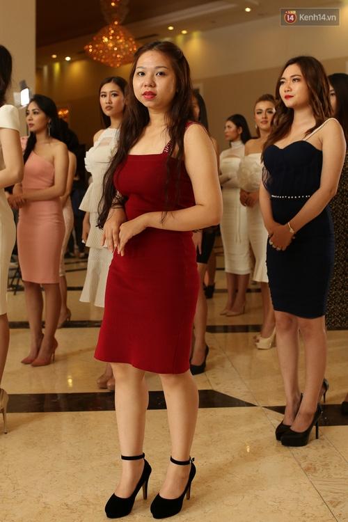 Nhiều thí sinh Hoa hậu Hoàn vũ miền Nam xuất hiện mệt mỏi, kém sắc - Ảnh 11.