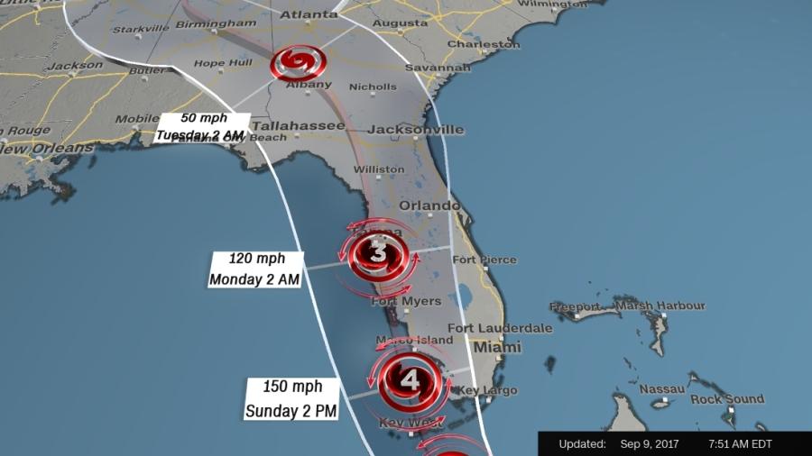 Thống đốc Florida: Bão tới rồi! - Ảnh 1.