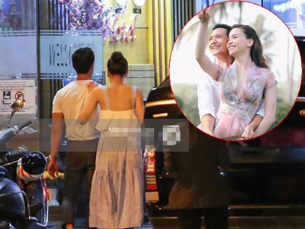 Hồ Ngọc Hà và Kim Lý bị bắt gặp cùng vào khách sạn lúc 3h sáng