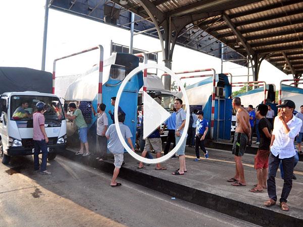 Video: Toàn cảnh trạm BOT tuyến tránh Biên Hoà
