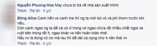 """nang dau nau canh ngao bi me chong """"nhin tu dau den cuoi"""", dan mang tranh luan nay lua - 4"""