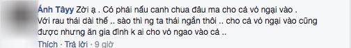 """nang dau nau canh ngao bi me chong """"nhin tu dau den cuoi"""", dan mang tranh luan nay lua - 5"""